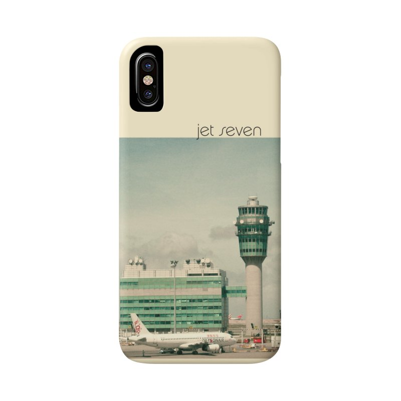 Jet Seven Airport Accessories Phone Case by Phil Noto's Shop