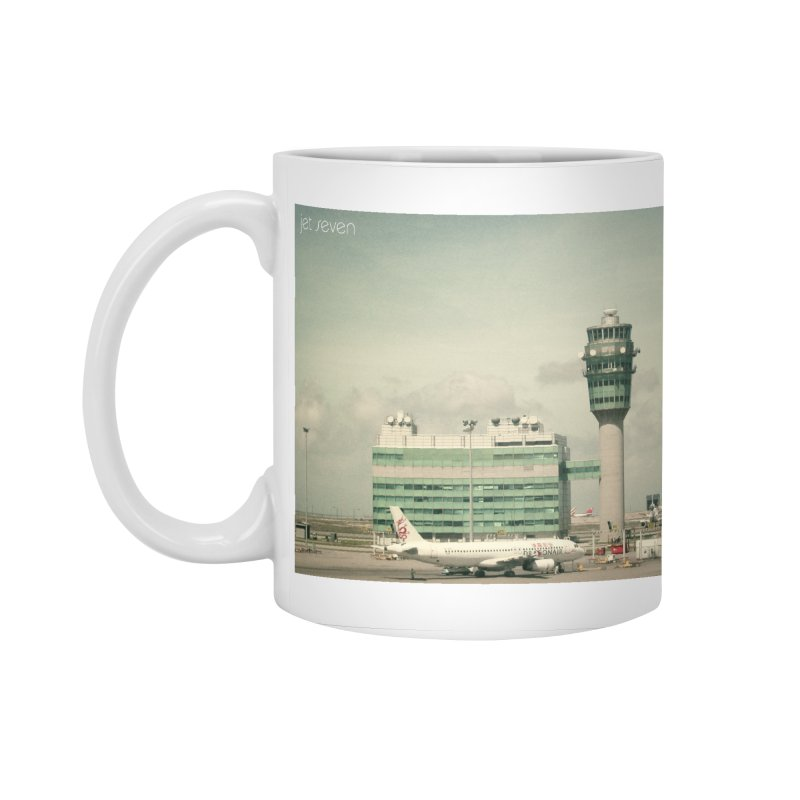 Jet Seven Airport Accessories Standard Mug by Phil Noto's Shop