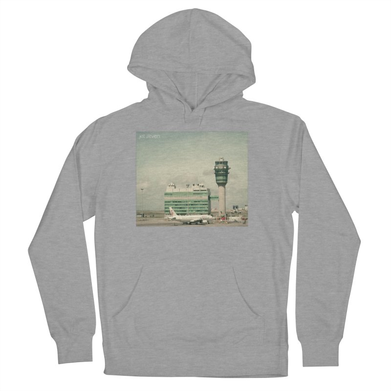 Jet Seven Airport Women's French Terry Pullover Hoody by Phil Noto's Shop