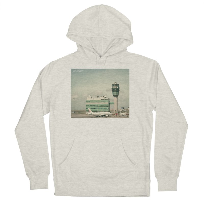 Jet Seven Airport Men's French Terry Pullover Hoody by Phil Noto's Shop