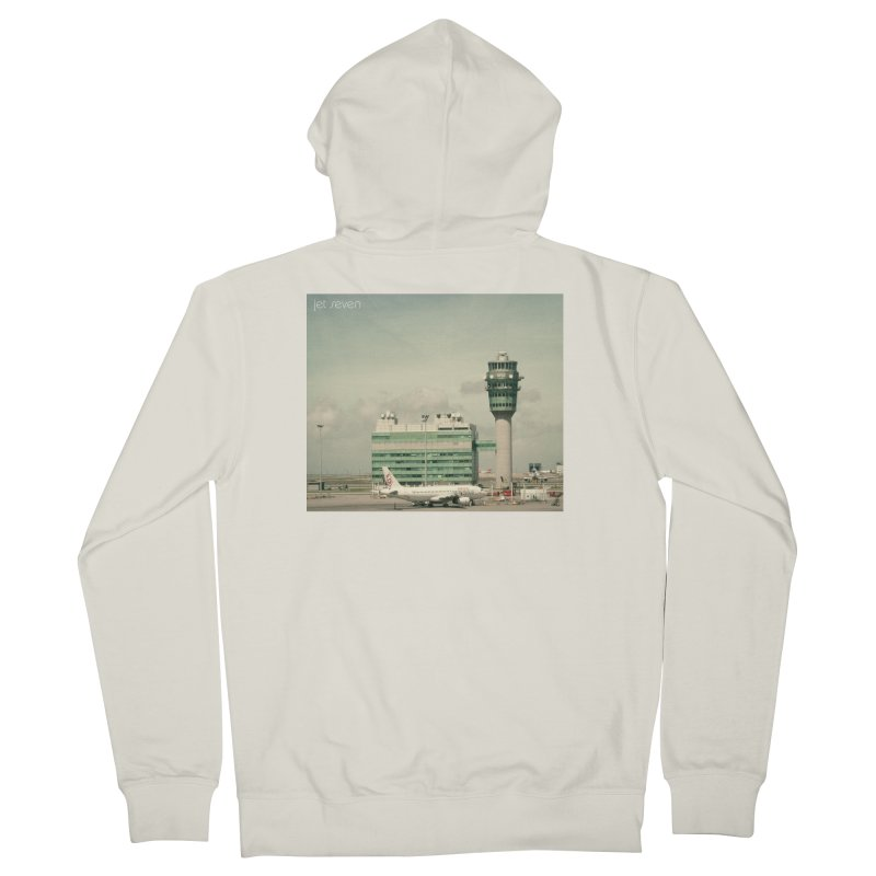 Jet Seven Airport Women's French Terry Zip-Up Hoody by Phil Noto's Shop