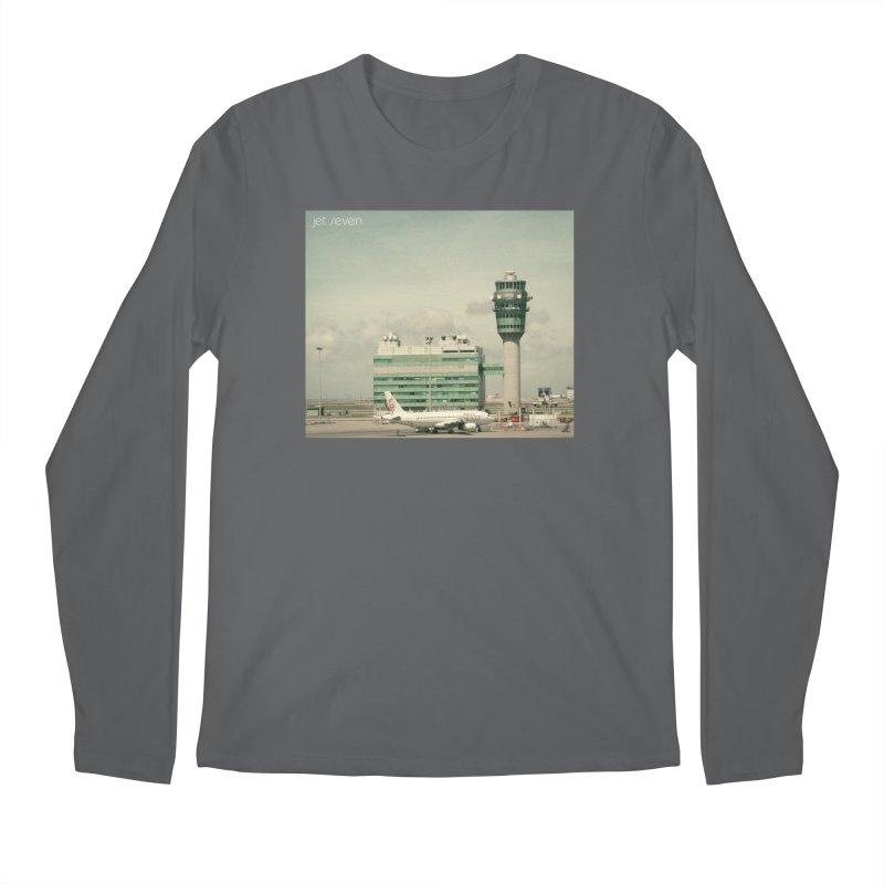 Jet Seven Airport Men's Regular Longsleeve T-Shirt by Phil Noto's Shop