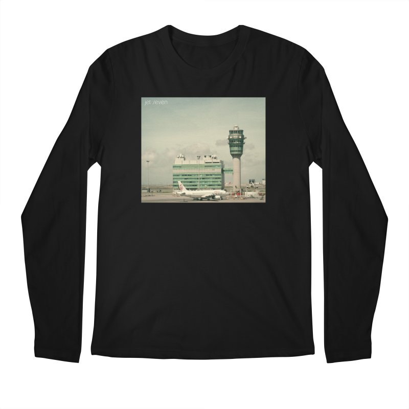 Jet Seven Airport Men's Regular Longsleeve T-Shirt by Phil Noto's Shop