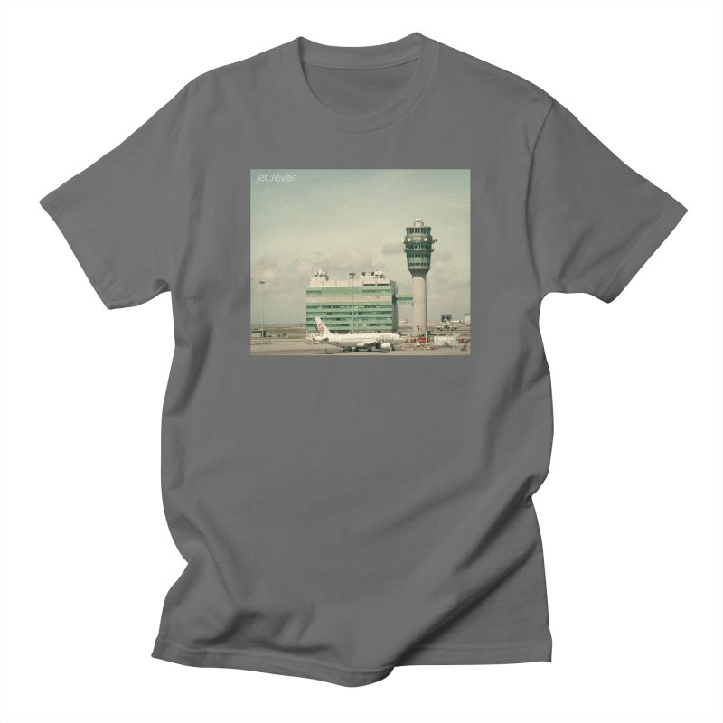 Jet Seven Airport Women's Regular Unisex T-Shirt by Phil Noto's Shop