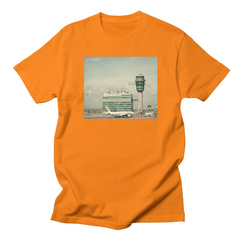 Jet Seven Airport Men's Regular T-Shirt by Phil Noto's Shop