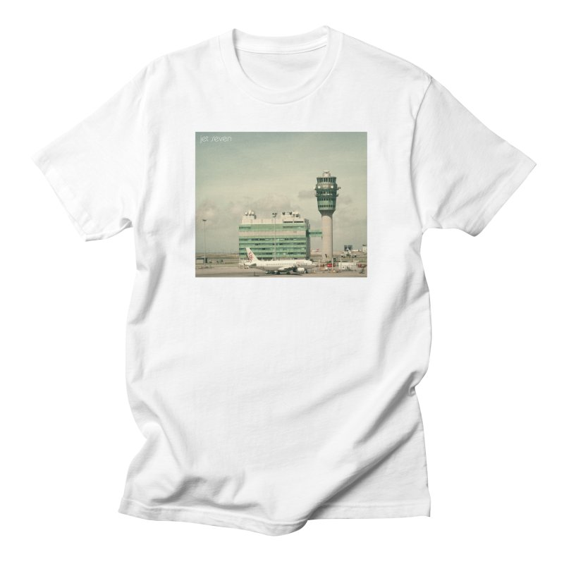 Jet Seven Airport Men's Regular T-Shirt by Phil Noto's Shop