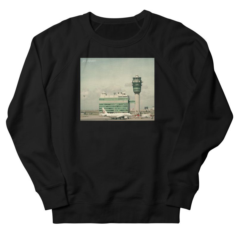 Jet Seven Airport Women's French Terry Sweatshirt by Phil Noto's Shop
