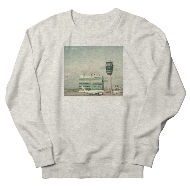Jet Seven Airport Men's French Terry Sweatshirt by Phil Noto's Shop