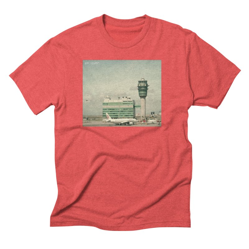 Jet Seven Airport Men's Triblend T-Shirt by Phil Noto's Shop