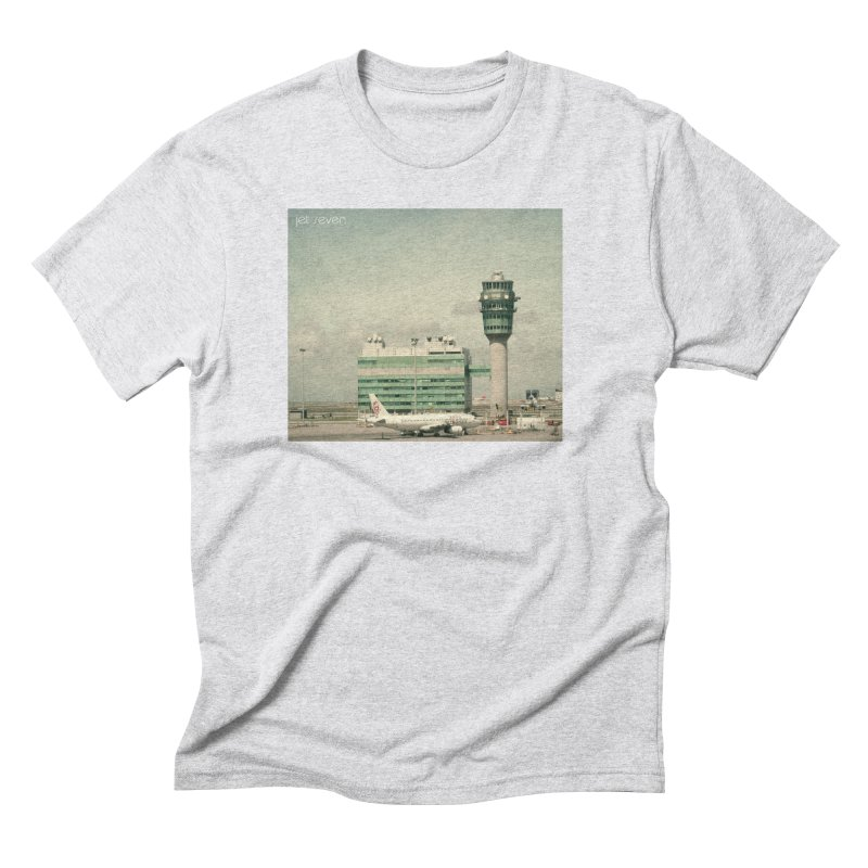 Jet Seven Airport Men's Triblend T-Shirt by Phil Noto's Shop