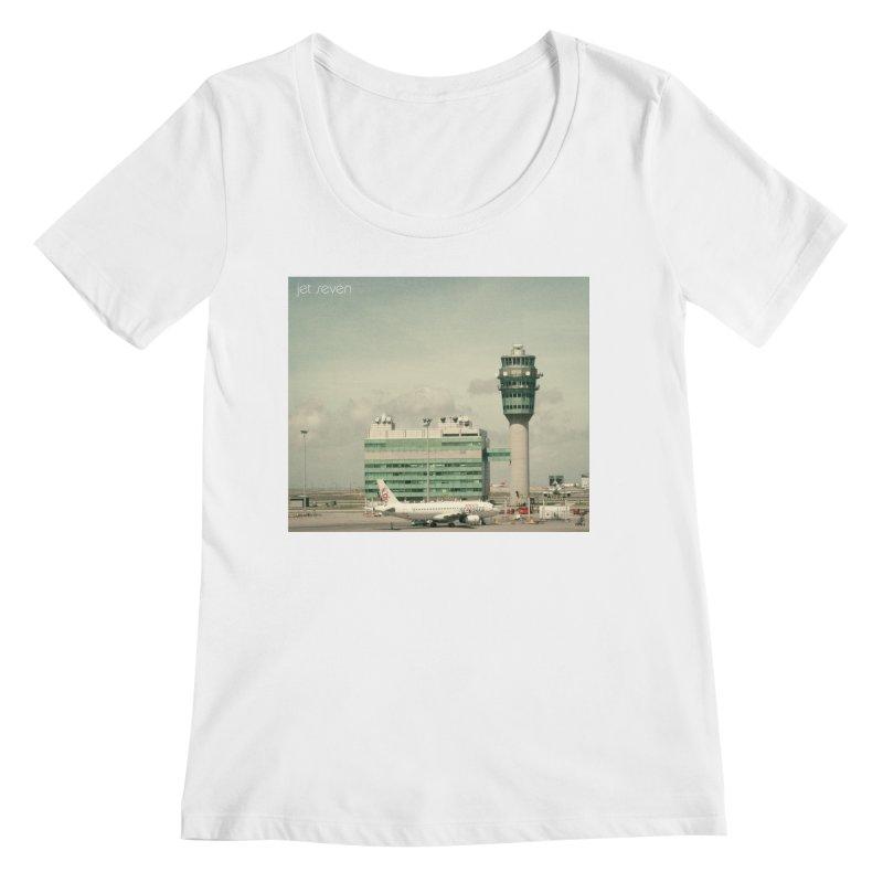 Jet Seven Airport Women's Scoopneck by Phil Noto's Shop