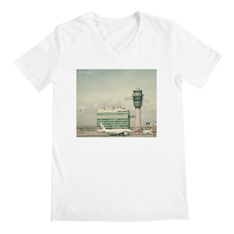 Jet Seven Airport Men's V-Neck by Phil Noto's Shop