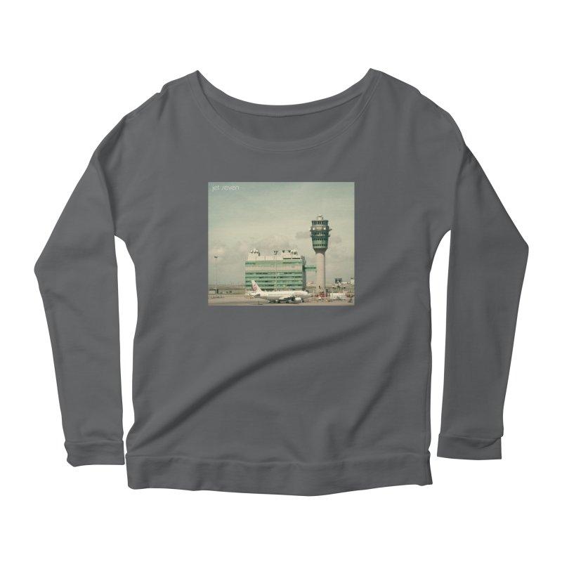 Jet Seven Airport Women's Scoop Neck Longsleeve T-Shirt by Phil Noto's Shop