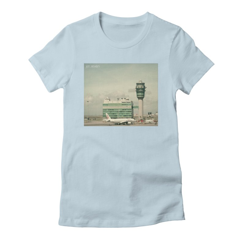 Jet Seven Airport Women's T-Shirt by Phil Noto's Shop