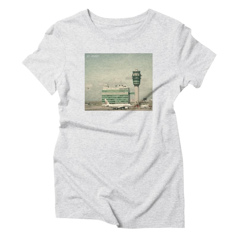 Jet Seven Airport Women's Triblend T-Shirt by Phil Noto's Shop