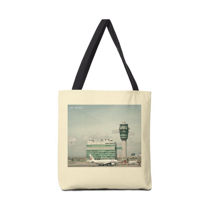 Jet Seven Airport Accessories Tote Bag Bag by Phil Noto's Shop