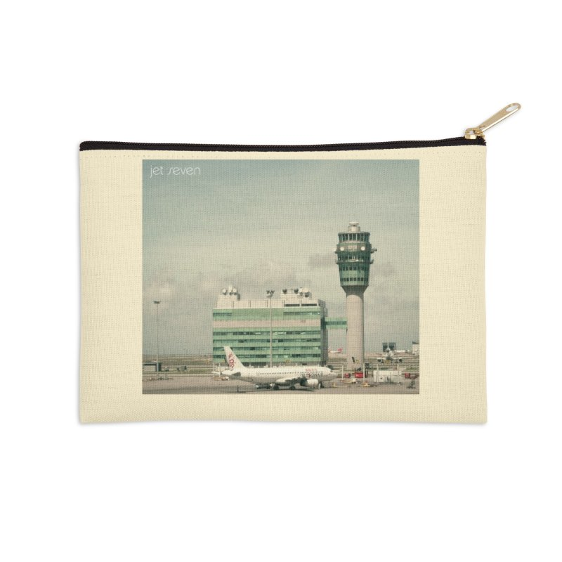 Jet Seven Airport Accessories Zip Pouch by Phil Noto's Shop