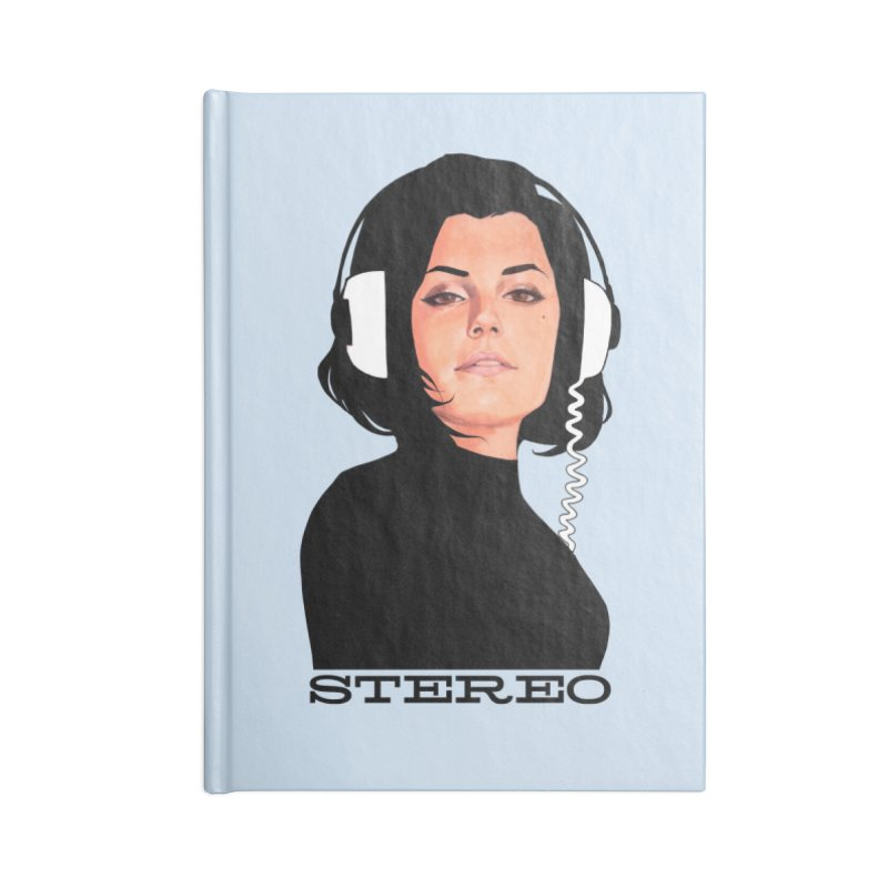 Stereo Accessories Lined Journal Notebook by Phil Noto's Shop