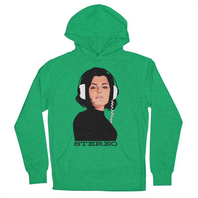 Stereo Women's French Terry Pullover Hoody by Phil Noto's Shop