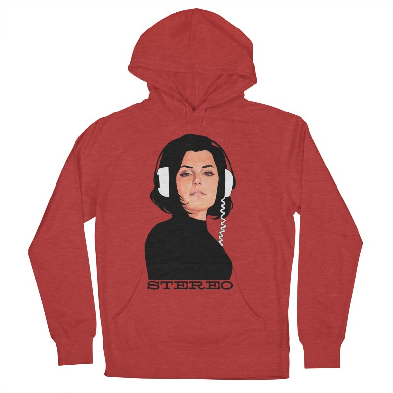 Stereo Men's French Terry Pullover Hoody by Phil Noto's Shop