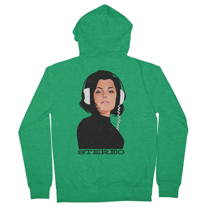 Stereo Women's Zip-Up Hoody by Phil Noto's Shop