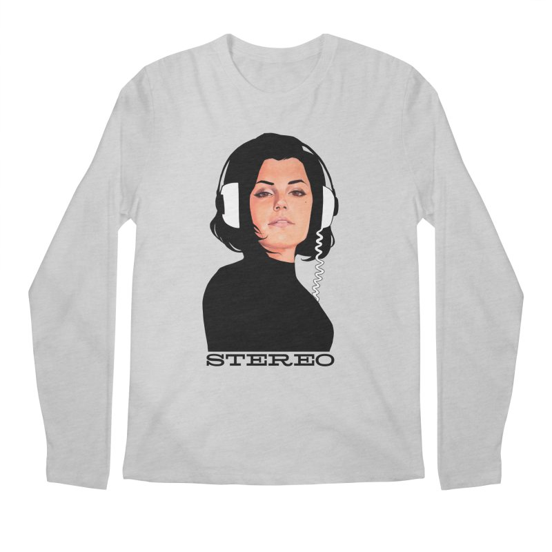 Stereo Men's Regular Longsleeve T-Shirt by Phil Noto's Shop