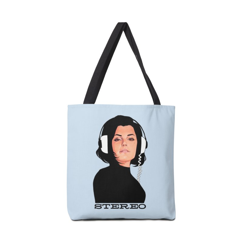 Stereo Accessories Tote Bag Bag by Phil Noto's Shop