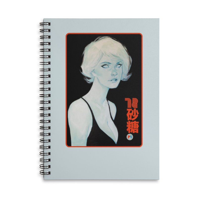 Sugar 72 Accessories Lined Spiral Notebook by Phil Noto's Shop
