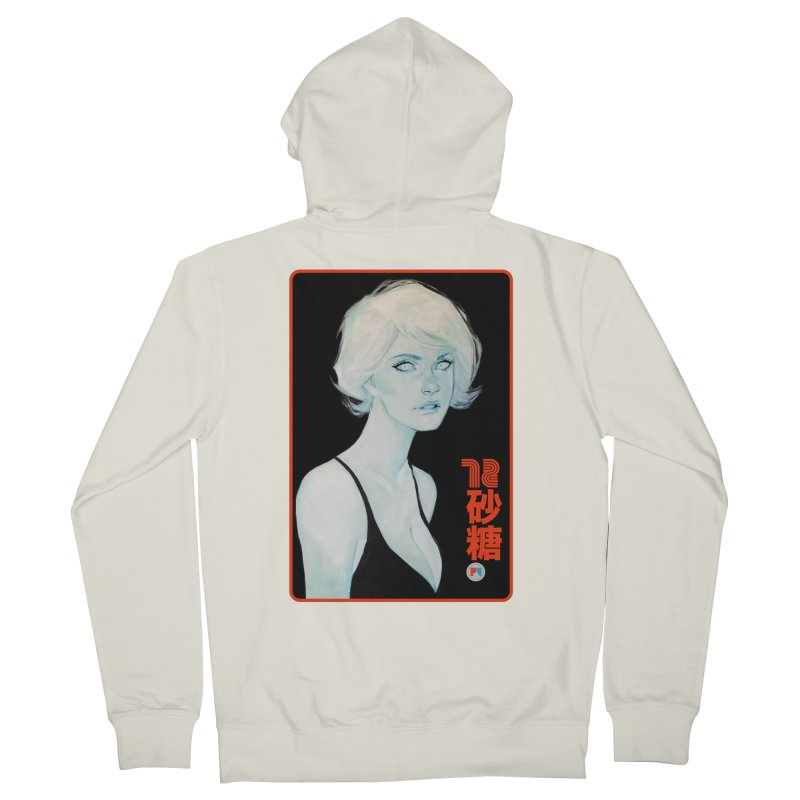 Sugar 72 Women's French Terry Zip-Up Hoody by Phil Noto's Shop