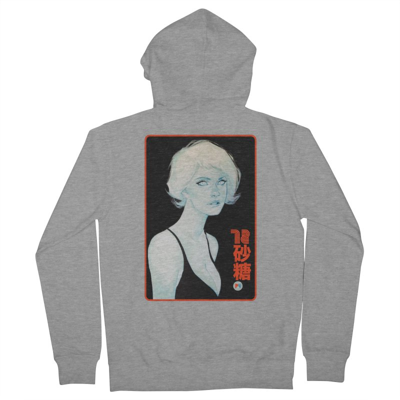 Sugar 72 Men's French Terry Zip-Up Hoody by Phil Noto's Shop