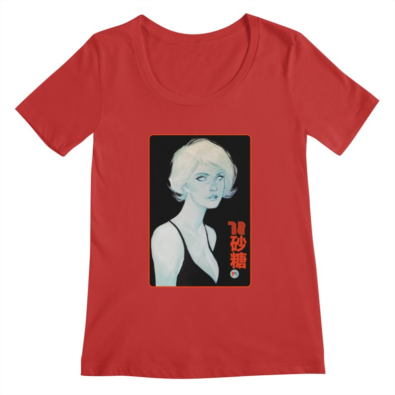 Sugar 72 Women's Regular Scoop Neck by Phil Noto's Shop