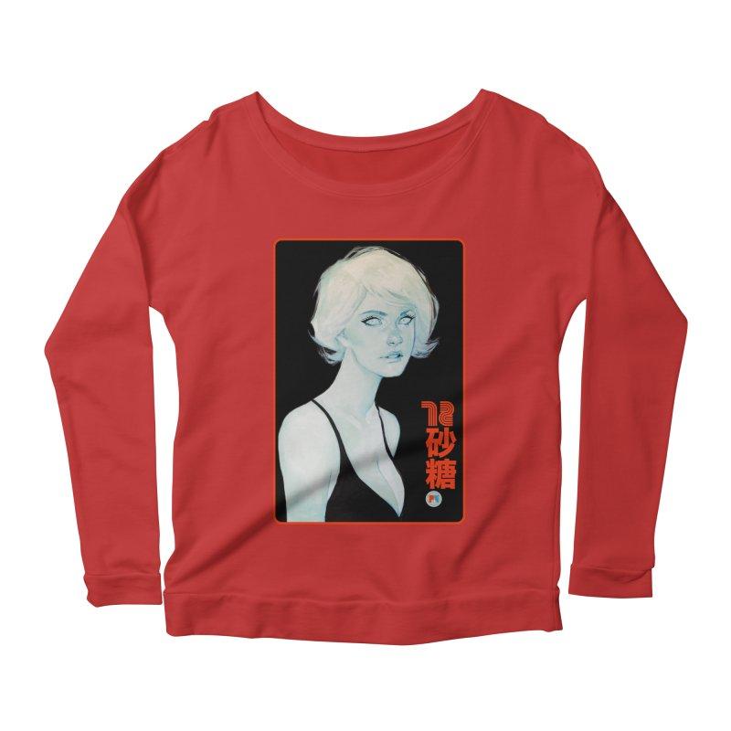 Sugar 72 Women's Scoop Neck Longsleeve T-Shirt by Phil Noto's Shop