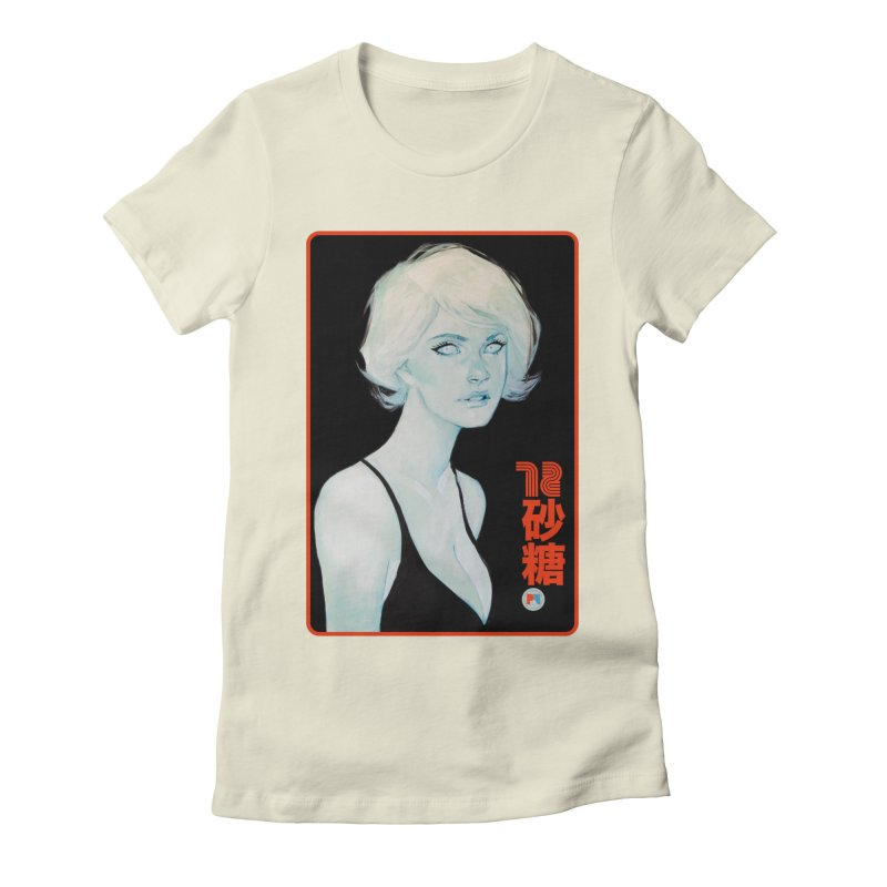 Sugar 72 Women's Fitted T-Shirt by Phil Noto's Shop
