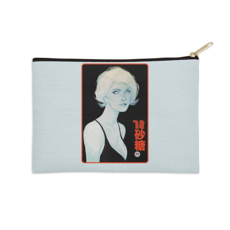Sugar 72 Accessories Zip Pouch by Phil Noto's Shop