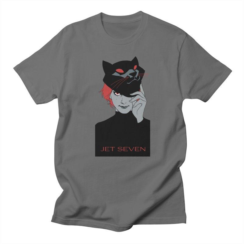 Jet Seven Cat Men's T-Shirt by Phil Noto's Shop