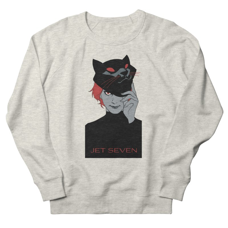 Jet Seven Cat Women's French Terry Sweatshirt by Phil Noto's Shop