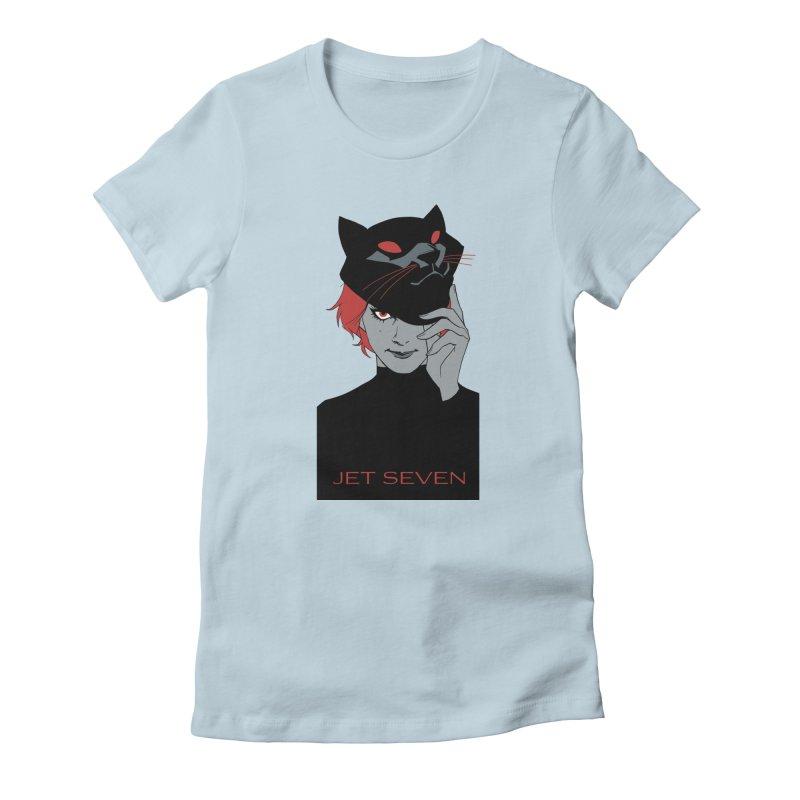 Jet Seven Cat Women's T-Shirt by Phil Noto's Shop