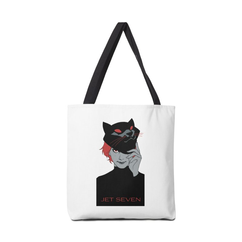 Jet Seven Cat Accessories Tote Bag Bag by Phil Noto's Shop