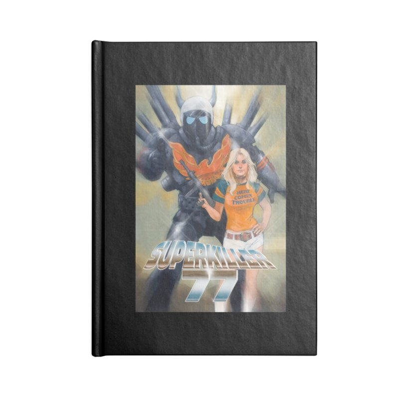Superkiller 77 Accessories Lined Journal Notebook by Phil Noto's Shop