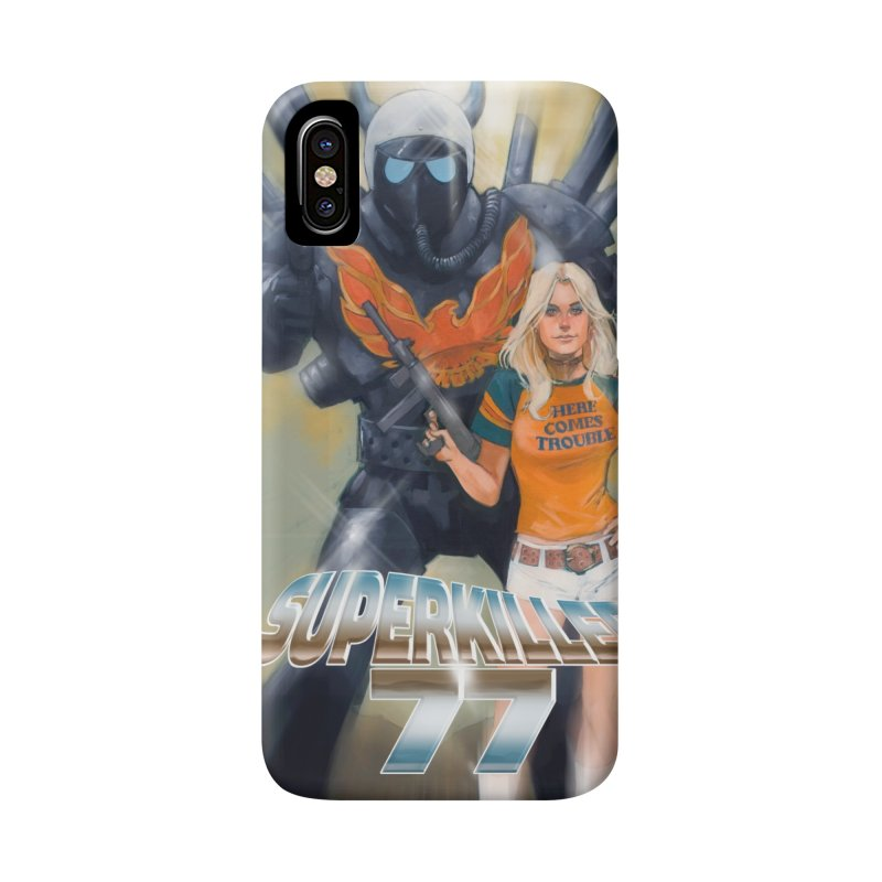 Superkiller 77 Accessories Phone Case by Phil Noto's Shop