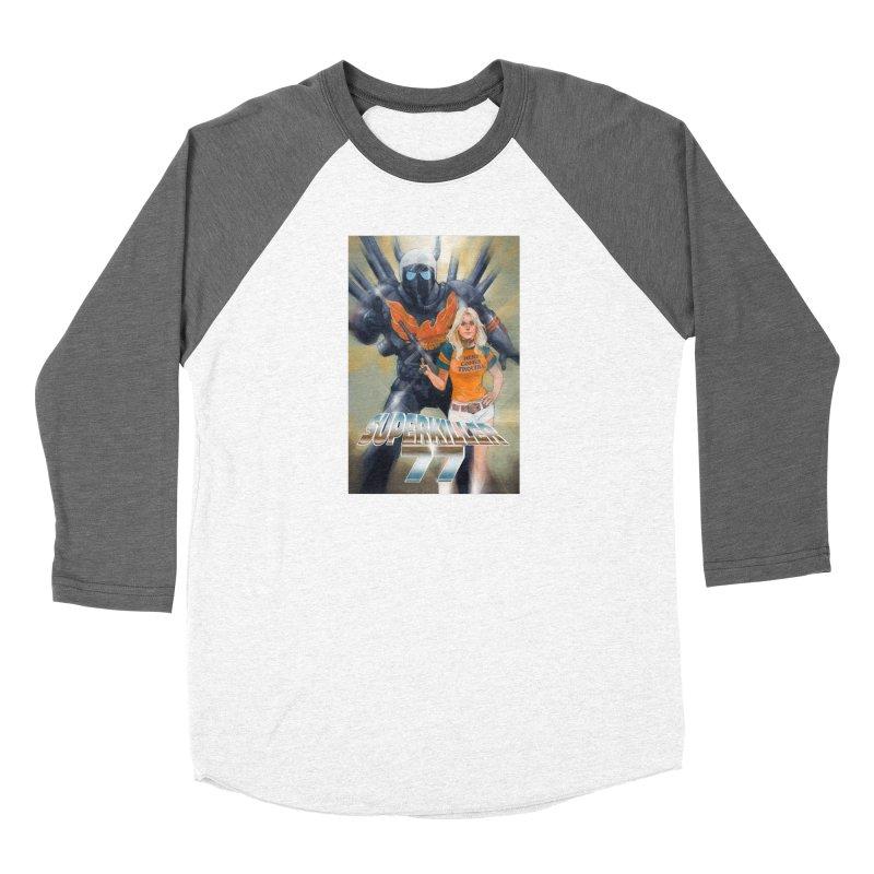 Superkiller 77 Men's Baseball Triblend Longsleeve T-Shirt by Phil Noto's Shop
