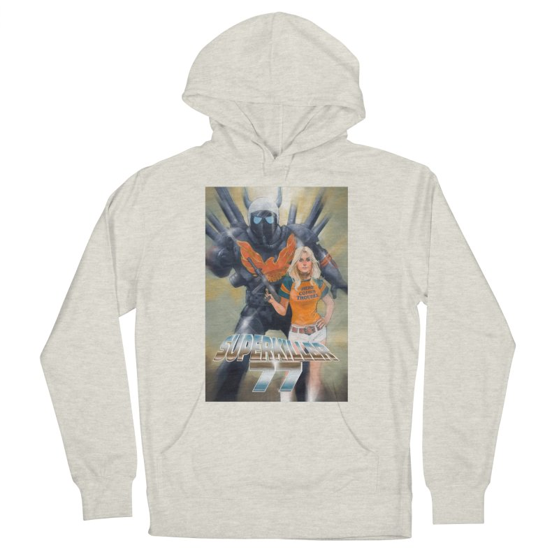 Superkiller 77 Men's French Terry Pullover Hoody by Phil Noto's Shop