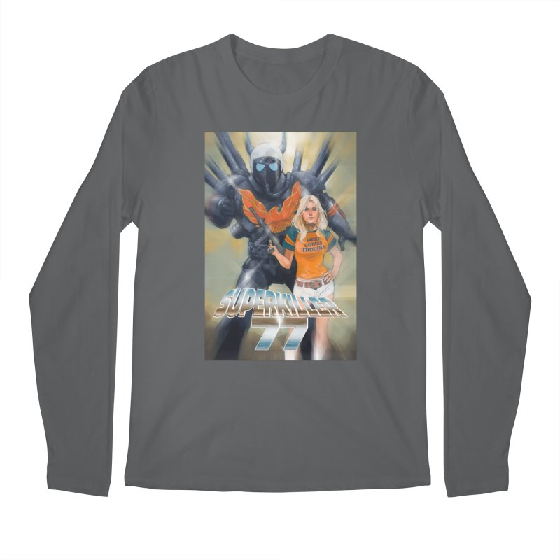 Superkiller 77 Men's Regular Longsleeve T-Shirt by Phil Noto's Shop