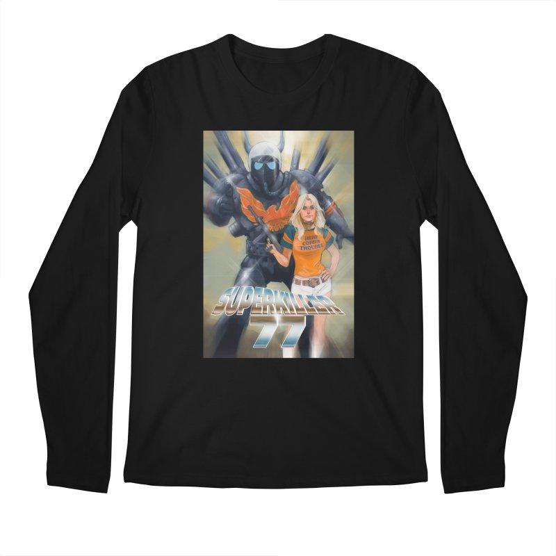 Superkiller 77 Men's Regular Longsleeve T-Shirt by Phil Noto's Shop