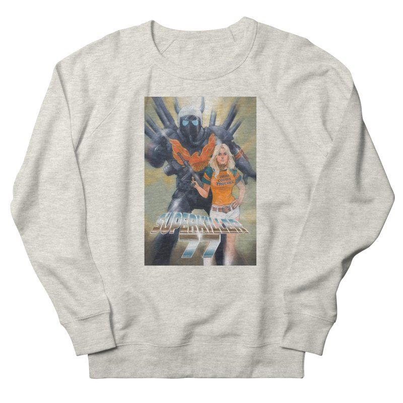 Superkiller 77 Women's French Terry Sweatshirt by Phil Noto's Shop