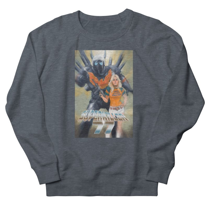 Superkiller 77 Men's French Terry Sweatshirt by Phil Noto's Shop