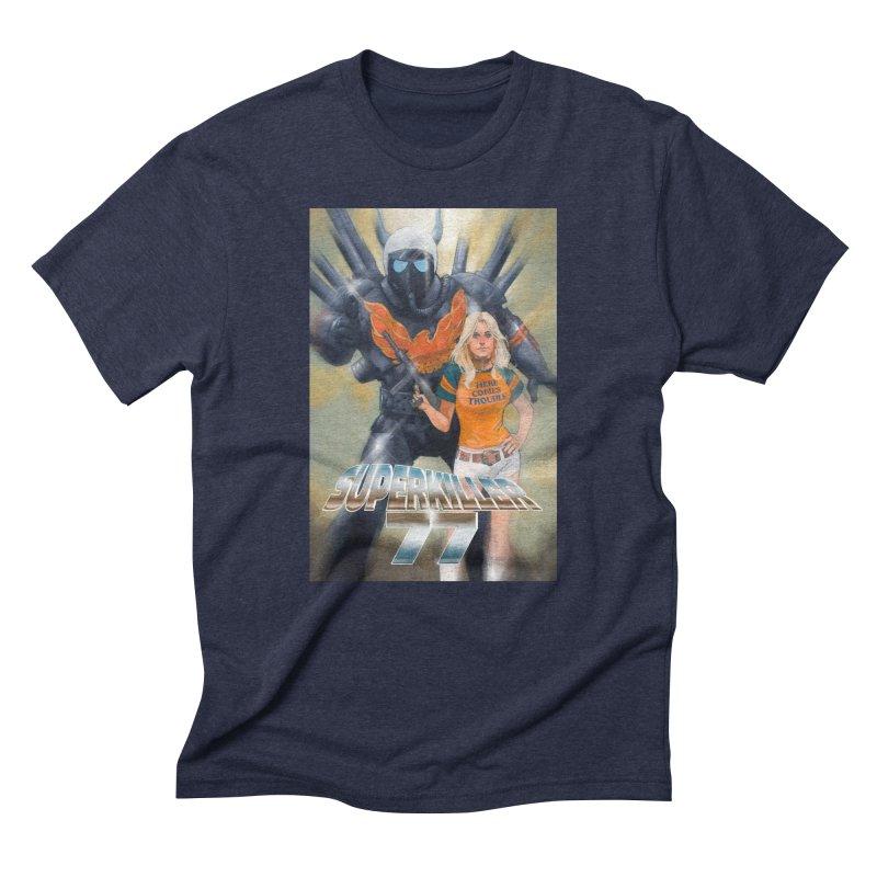 Superkiller 77 Men's Triblend T-Shirt by Phil Noto's Shop