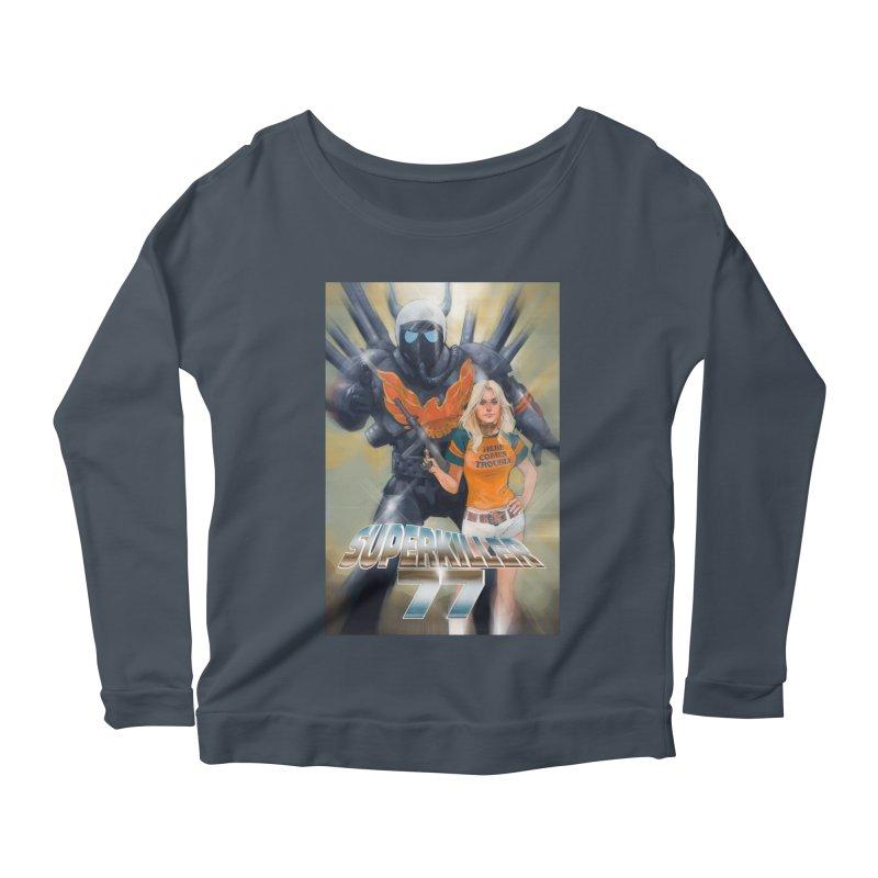 Superkiller 77 Women's Scoop Neck Longsleeve T-Shirt by Phil Noto's Shop