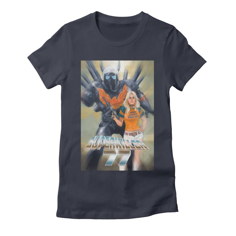 Superkiller 77 Women's Fitted T-Shirt by Phil Noto's Shop