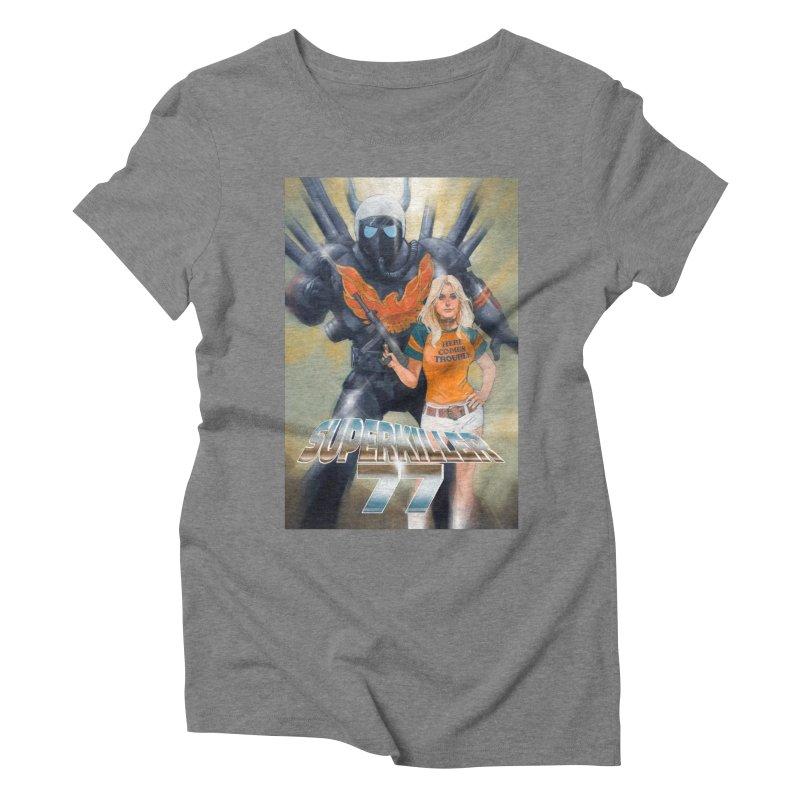 Superkiller 77 Women's Triblend T-Shirt by Phil Noto's Shop